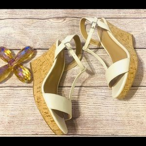 New Charles by Charles David Cream suede C…